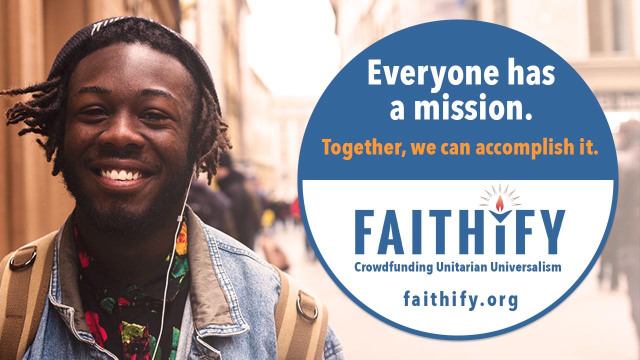 Faithify donation form image