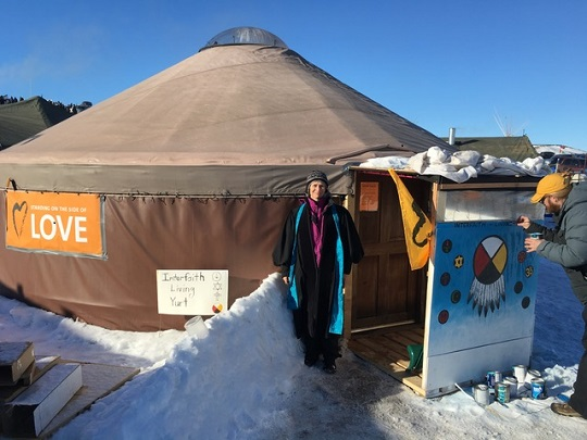 Standing Rock Interfaith Yurt